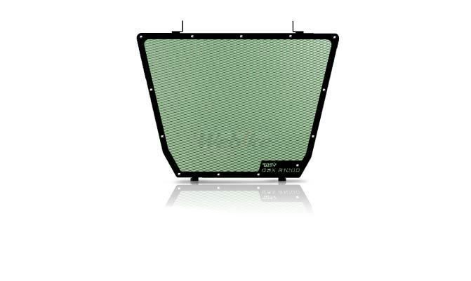 Dimotiv ディモーティヴ コアガード ラジエーターガードスタンダード(Radiator Guard - Standard) カラー:Dark Green GSX-R 1000 12-16