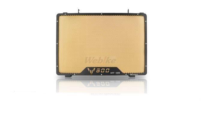 Dimotiv ディモーティヴ コアガード ラジエーターガードスタンダード(Radiator Guard - Standard) カラー:Gold MT-09 13-16