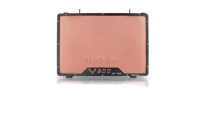 Dimotiv ディモーティヴ コアガード ラジエーターガードスタンダード(Radiator Guard - Standard) カラー:Orange MT-09 13-16