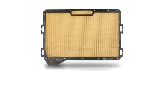 Dimotiv ディモーティヴ コアガード ラジエーターガードスタンダード(Radiator Guard - Standard) カラー:Gold MT-07 14-16