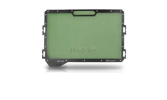 Dimotiv ディモーティヴ コアガード ラジエーターガードスタンダード(Radiator Guard - Standard) カラー:Dark Green MT-07 14-16