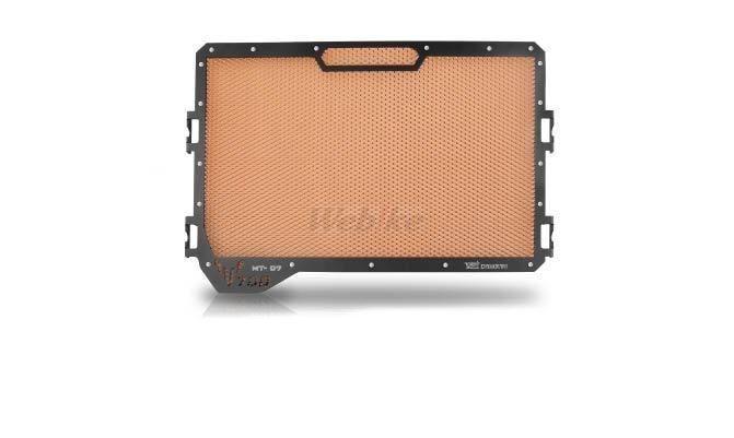 Dimotiv ディモーティヴ コアガード ラジエーターガードスタンダード(Radiator Guard - Standard) カラー:Orange MT-07 14-16