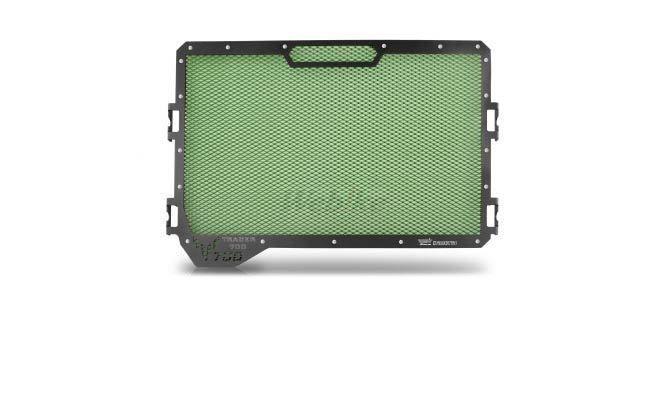 Dimotiv ディモーティヴ コアガード ラジエーターガードスタンダード(Radiator Guard - Standard) カラー:Dark Green TRACER 700 2015-2016