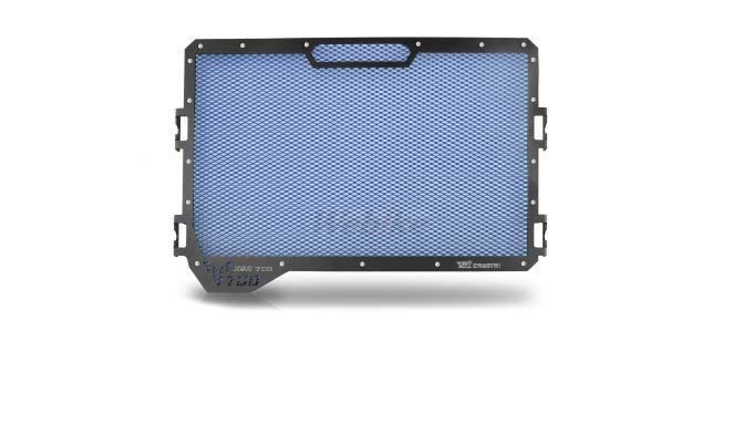 Dimotiv ディモーティヴ コアガード ラジエーターガードスタンダード(Radiator Guard - Standard) カラー:Blue XSR700