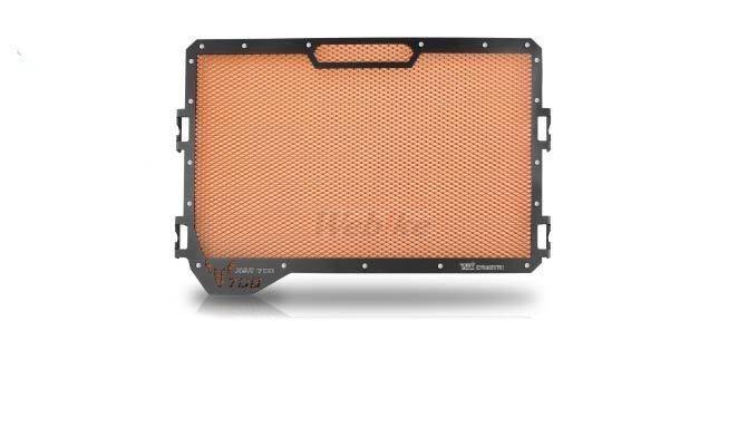 Dimotiv ディモーティヴ コアガード ラジエーターガードスタンダード(Radiator Guard - Standard) カラー:Orange XSR700