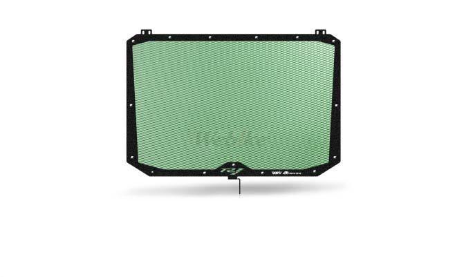 Dimotiv ディモーティヴ コアガード ラジエーターガードスタンダード(Radiator Guard - Standard) カラー:Dark Green YZF-R1 15-16、YZF-R1M 15-16、YZF-R1S 16-17