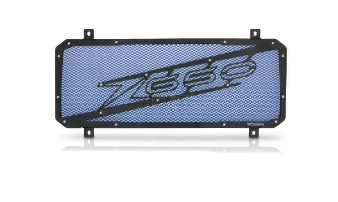 Dimotiv ディモーティヴ コアガード ラジエーターガードスペシャル(Radiator Guard - Special) カラー:Blue Z650 17-18
