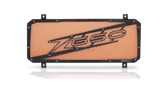 Dimotiv ディモーティヴ コアガード ラジエーターガードスペシャル(Radiator Guard - Special) カラー:Orange Z650 17-18