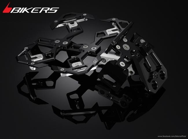BIKERS バイカーズ アジャスタブルナンバープレートサポート CB650F CB650F CBR650F CBR650F