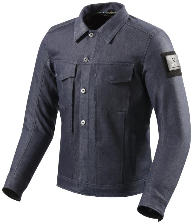【在庫あり】REVIT レブイット ライディングジャケット デニムジャケット CROSBY[クロスビー] サイズ:S