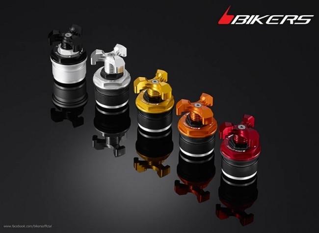 BIKERS バイカーズ イニシャルアジャスター カラー:ライトゴールド CB500F CB500X CB650F CBR500R CBR650F NC 750X DCT NINJA400 REBEL 300 REBEL 500