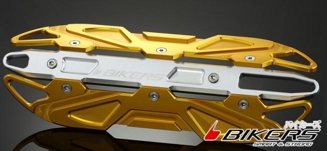 【イベント開催中!】 BIKERS バイカーズ その他マフラーパーツ エキゾーストガード カラー:Light Gold PCX125 PCX150 ズーマーX