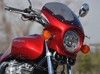 CHIC DESIGN シックデザイン ビキニカウル・バイザー ロードコメット カラー:パールホークスアイブルー スクリーンカラー:スモーク CB1100 EX
