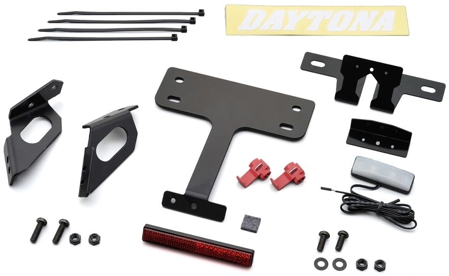 DAYTONA デイトナ LEDフェンダーレスキット Ninja400R (11-13)、ER-6n/f (09-11)、ER-4N (11)