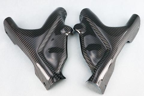 【イベント開催中!】 A-TECH エーテック Aテック フレームカバー 素材:FRP/黒(FB) ZRX1200ダエグ