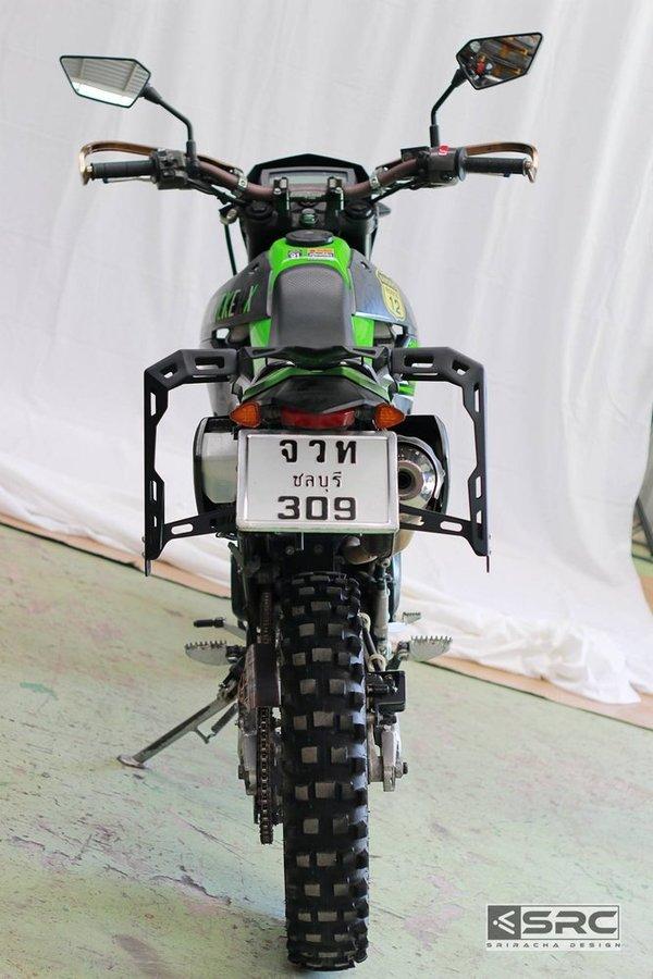 【イベント開催中!】 SRC エスアールシー キャリア トップラック セット KLX250