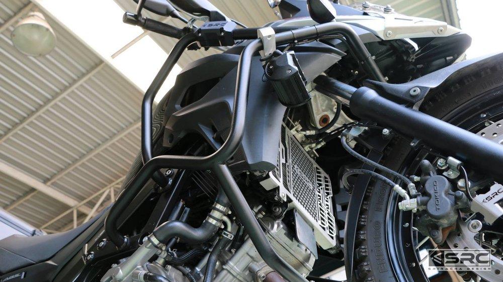 【イベント開催中!】 SRC エスアールシー ガード・スライダー クラッシュバー V-STROM V-STORM650/2017