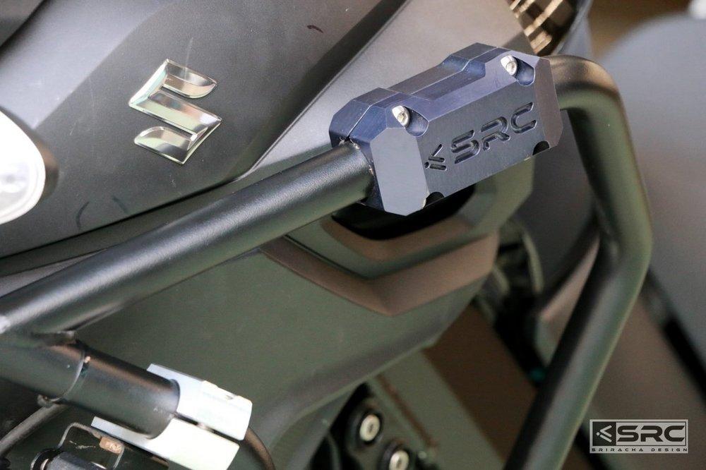 【イベント開催中!】 SRC エスアールシー ガード・スライダー クラッシュバー V-STROM V-STORM 650