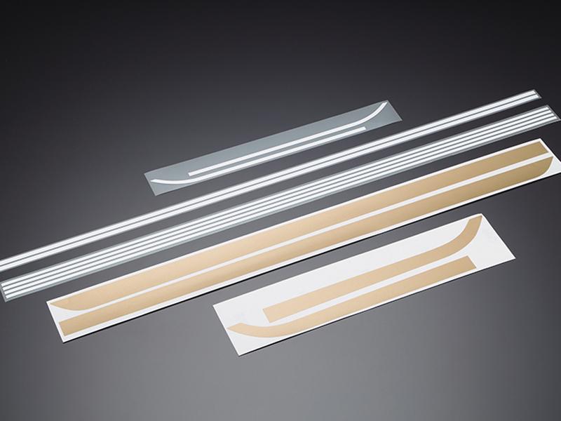 DOREMI COLLECTION ドレミコレクション ステッカー・デカール ラインステッカーセット カラー:金/白(玉虫カラー) Z1 (900SUPER4) Z2 (750RS/Z750FOUR) ゼファー400 ゼファー750 ゼファーX