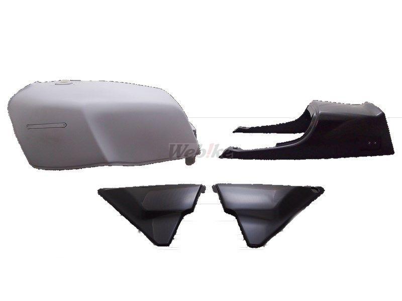 DOREMI COLLECTION ドレミコレクション FXタイプタンクセット タイプ:ペイントベース + STD(Z750FX-1型)シートリベット付き ゼファー750