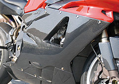 Magical Racing マジカルレーシング サイドカバー サイドカウル タイプ:エアアウトレットなし タイプ:左側 素材:FRP製・白