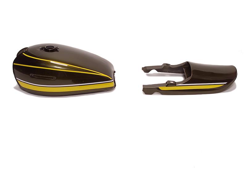 DOREMI COLLECTION ドレミコレクション フルカウル・セット外装 RSタイプ外装セット エンブレム取り付け:あり タンクカラー:黄タイガー Z1000 (空冷) Z750 (空冷)