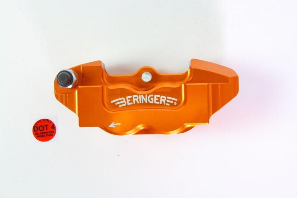 BERINGER ベルリンガー 4ピストンラジアルキャリパー カラー:ブラック 125DUKE 200DUKE 250DUKE 390DUKE RC125 RC250 RC390