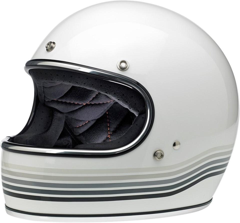 BILTWELL ビルトウェル GRINGO [グリンゴ] レトロフルフェイスヘルメット HELMET GRINGO WT SPECT サイズ:Large (59-60cm) [0101-7598]