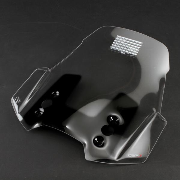 Puig プーチ ツーリングスクリーン カラー:クリア ヴェルシス 650
