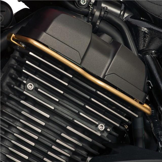 US YAMAHA 北米ヤマハ純正アクセサリー エンジンカバー ブラスーワイヤートリム【Brass Wire Trim】 ボルト