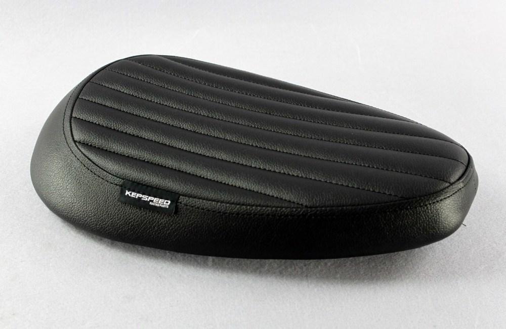 GM-MOTO ジーエムモト シート本体 カスタムシングルシート カラー:ブラック カブ