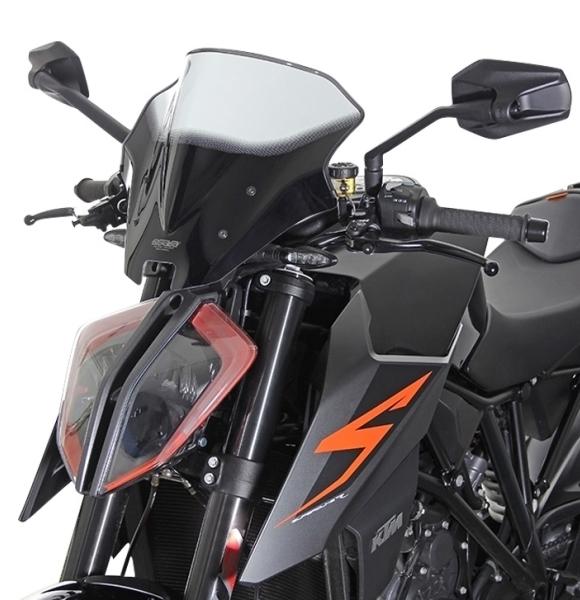 MRA エムアールエー スクリーン レーシング カラー:ブラック/グラデーション無し 1290 SUPER DUKE R