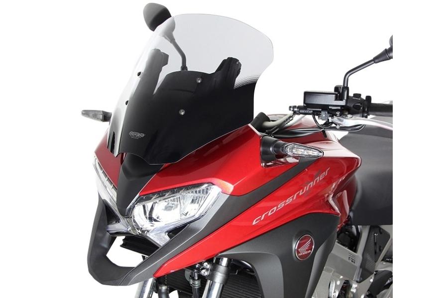 MRA エムアールエー スクリーン ツーリング カラー:ブラック VFR800Xクロスランナー