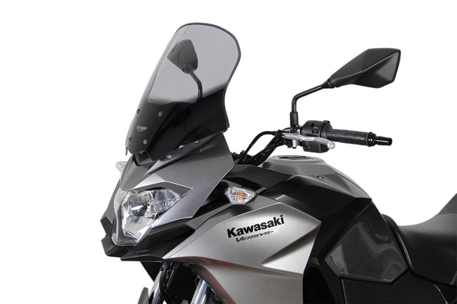 MRA エムアールエー スクリーンツーリング カラー:ブラック VERSYS-X 250