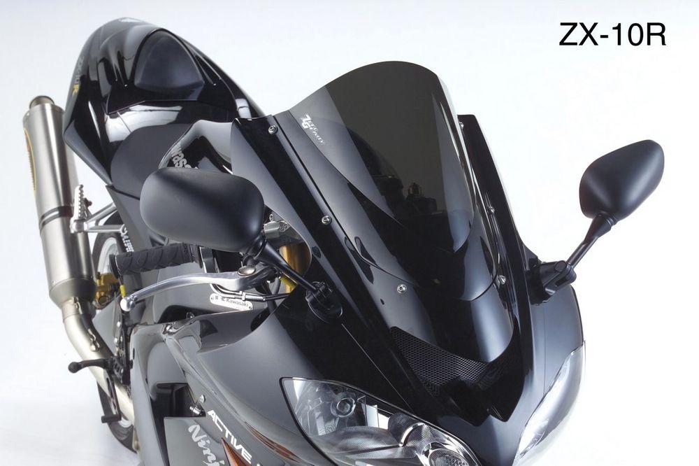 ZEROGRAVITY ゼログラビティ スクリーン 【ダブルバブル】 カラー:ダークスモーク Z750S (水冷) ZX-10R