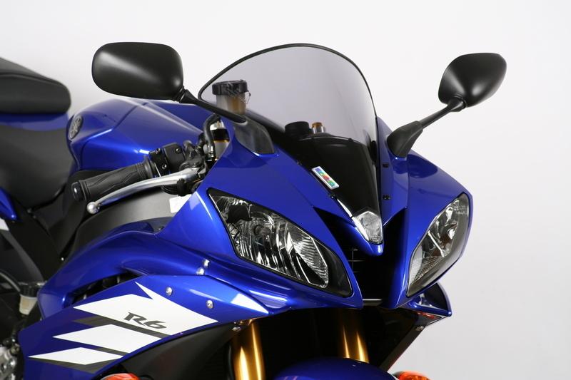 MRA エムアールエー スクリーン オリジナル カラー:ブラック/グラデーション無し YZF-R6