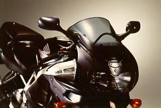 MRA エムアールエー スクリーン レーシング カラー:ブラック/グラデーション有り CBR900RRファイアーブレード