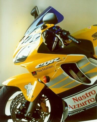 MRA エムアールエー スクリーン レーシング カラー:ブラック/グラデーション有り CBR600F