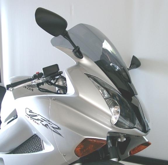 MRA エムアールエー スクリーン レーシング カラー:ブラック/グラデーション無し VFR800