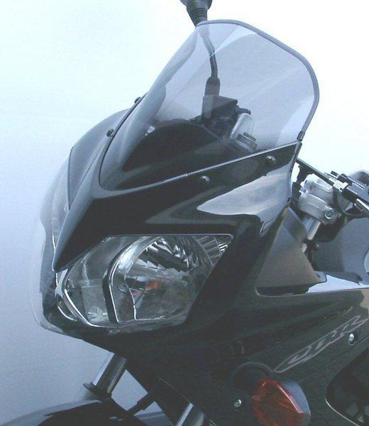 MRA エムアールエー スクリーン レーシング カラー:ブラック/グラデーション無し CBR125R
