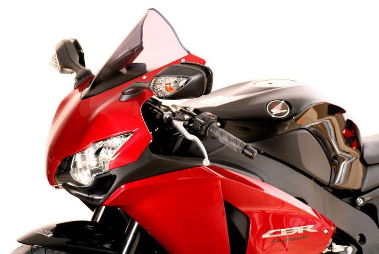 MRA エムアールエー スクリーン レーシング カラー:ブラック/グラデーション無し CBR1000RR