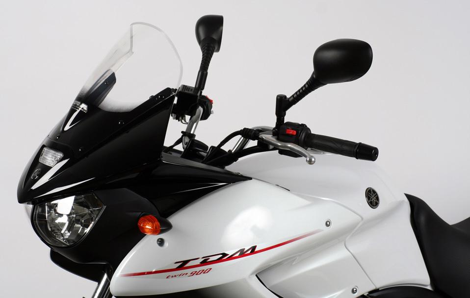 MRA エムアールエー スクリーン レーシング カラー:ブラック/グラデーション有り TDM900