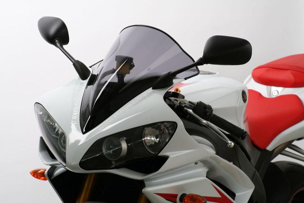 MRA エムアールエー スクリーン レーシング カラー:ブラック/グラデーション無し YZF-R1