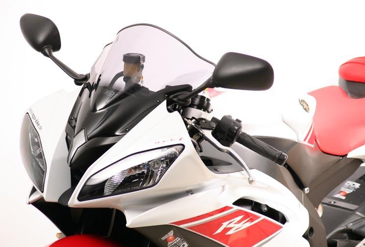 MRA エムアールエー スクリーン レーシング カラー:ブラック/グラデーション無し YZF-R6