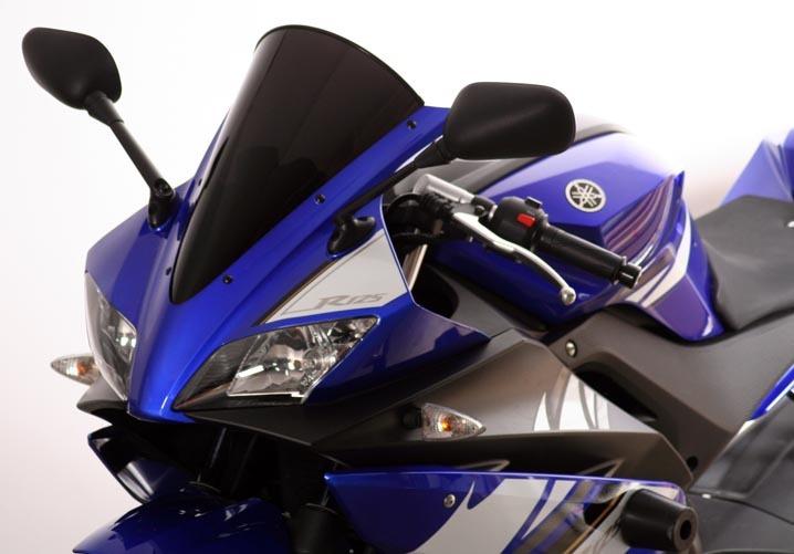 MRA エムアールエー スクリーン レーシング カラー:ブラック/グラデーション無し YZF-R125