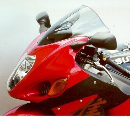MRA エムアールエー スクリーン レーシング カラー:ブラック/グラデーション有り GSX1300R ハヤブサ(隼)
