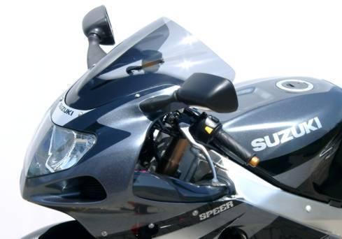 MRA エムアールエー スクリーン レーシング カラー:ブラック/グラデーション有り GSX-R1000 GSX-R600 GSX-R750