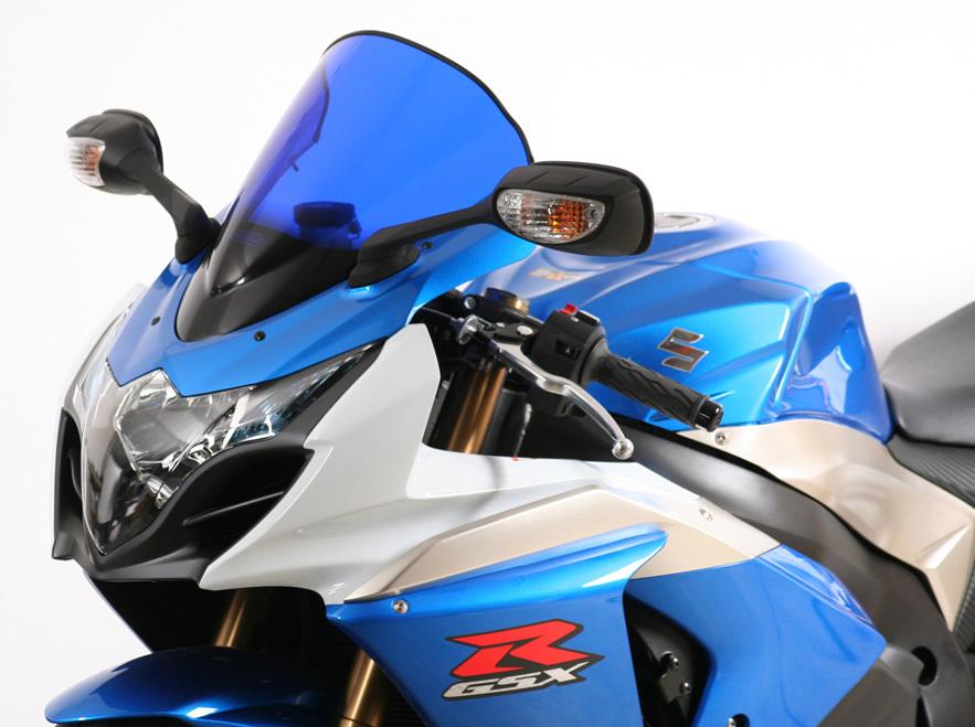 MRA エムアールエー スクリーン レーシング カラー:ブラック/グラデーション無し GSX-R1000