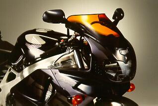MRA エムアールエー スクリーン スポイラー カラー:ブラック/グラデーション有り CBR900RRファイアーブレード