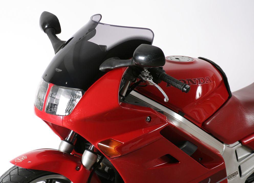 MRA エムアールエー スクリーン スポイラー カラー:ブラック/グラデーション有り VFR750F